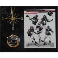 NFL 2013 Atlanta Falcons Team Photo Clock