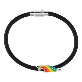 Fine Silver Plated Rainbow Dash Tail My Little Pony Bracelet