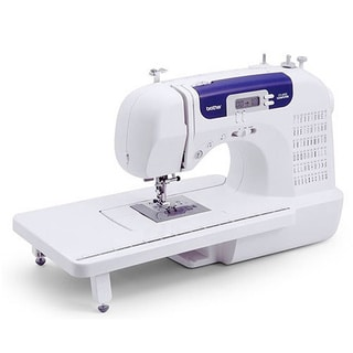 Brother CS-6000i 60-stitch Computerized Sewing Machine with Wide Table Factory Serviced