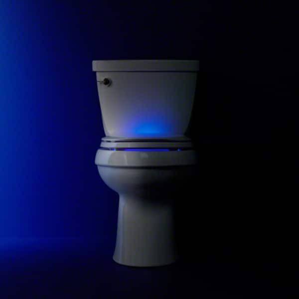 Phenomenal Shop Kohler K 4888 Cachet Nightlight Q3 Elongated Toilet Theyellowbook Wood Chair Design Ideas Theyellowbookinfo
