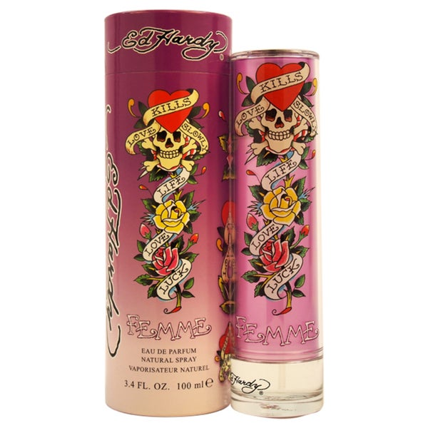 Ed Hardy For Women 3 4 Oz Edp Spray: Shop Ed Hardy Femme Women's 3.4-ounce Eau De Parfum Spray