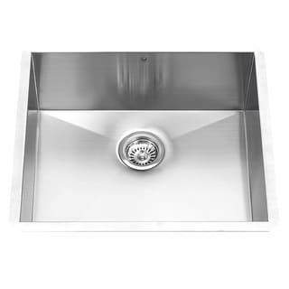 Vigo 23-inch Undermount Stainless Steel 16-gauge Single Bowl Kitchen Sink