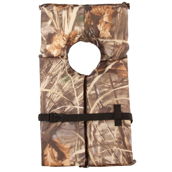 Stearns Max Camouflage Adult Oversize Life Vest