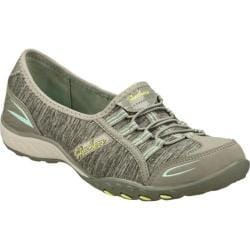 Women's Skechers Relaxed Fit Breathe Easy Good Life Gray/Blue