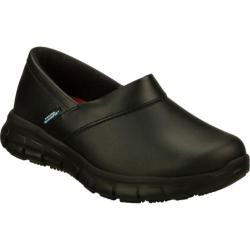Women's Skechers Work Relaxed Fit Sure Track Bernal SR Black