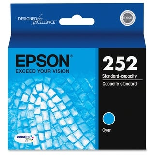 Epson DURABrite Ultra T252220 Original Ink Cartridge - Cyan