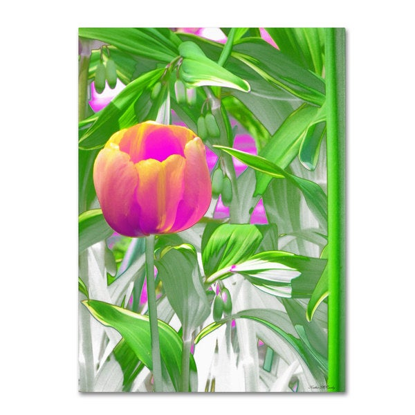 Kathie McCurdy 'Hot Tropic' Canvas Art - Multi