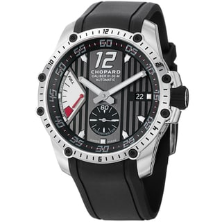 Chopard Men's 168537-3001 'Superfast' Black Rubber Strap Power Reserve Watch