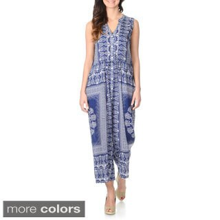 La Cera Women's Ethnic Printed Jumper (More options available)