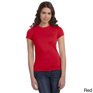 Bella Women's Poly Cotton Short Sleeve T-shirt