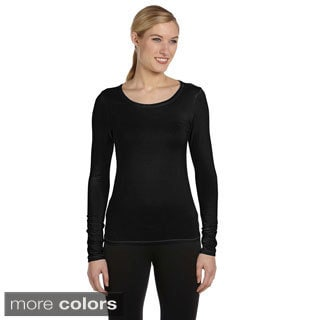 Women's Rayon from Bamboo Long Sleeve T-shirt