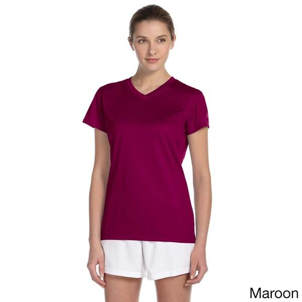 Women/'s New Balance Endurance Blue Tec Shirt New LARGE