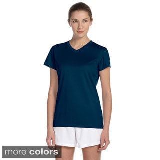 New Balance Women's Endurance Athletic V-neck T-shirt