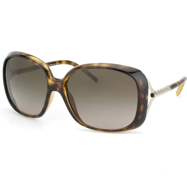 47948d0ad97 Shop Burberry Women s BE 4068 300213 Tortoise Sunglasses - Free ...