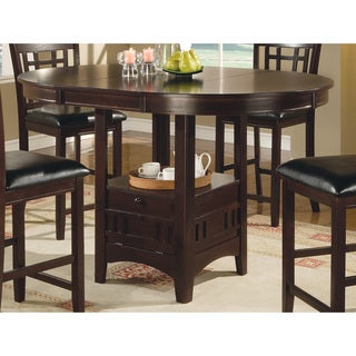 Coaster Company Cappuccio Veneer Top Storage Pub Table