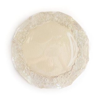 Roberta Iris Luster Pearl Charger Plate
