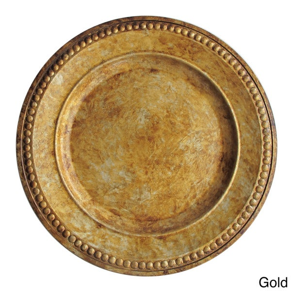 Charger Gold 14-inch Plate