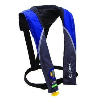 Onyx M-24 Blue In-sight Manual Inflatable Life Jacket