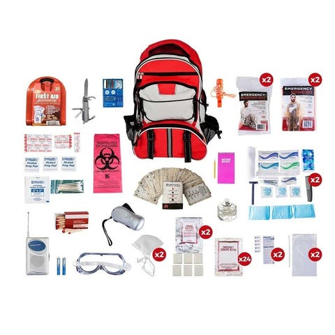 2 Person Deluxe Survival Kit 72 plus Hours