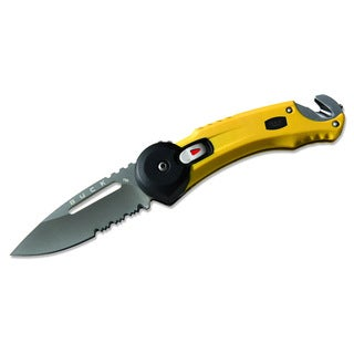 Buck Redpoint 0753YWX Yellow Rescue Knife
