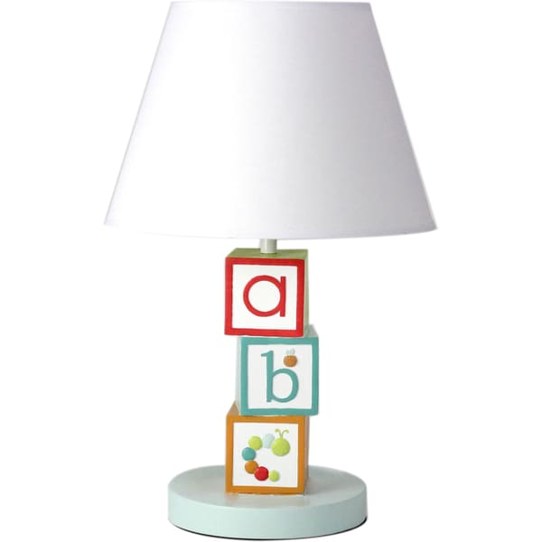 Nurture Imagination My ABCs Nursery Lamp Base and Shade - Free ...
