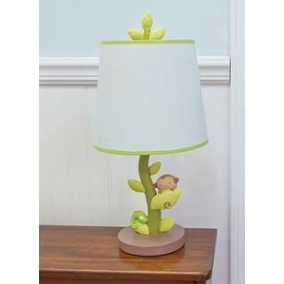 Nurture Imagination Swing Nursery Lamp Base and Shade
