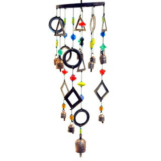 Handmade Geometric Wind Chime (India)