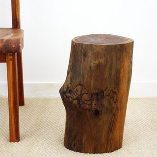 Handmade Teak Stump Accent Table (Thailand)