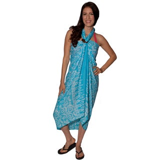 Women's Marina-printed Sarong and Buckle (Indonesia)