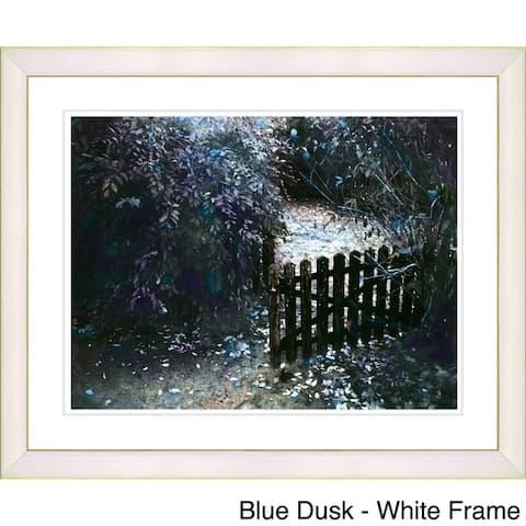 Zhee Singer 'Cape Cod Garden' Framed Fine Art Print
