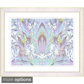 Zhee Singer 'Abstract Spring Floral' Framed Fine Art Print