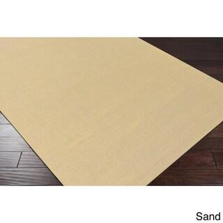 Hand-loomed Savannah Casual Wool Area Rug (Sand - 12 x 15)