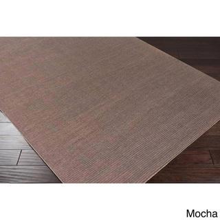 Hand-loomed Savannah Casual Wool Area Rug (Mocha - 12 x 15)