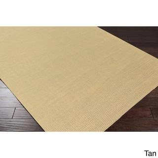 Hand-loomed Savannah Casual Wool Area Rug (Taupe - 12 x 15)
