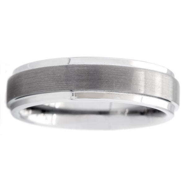 Cambridge Men's Classic Tungsten Carbide 6mm Comfort-fit Wedding Band