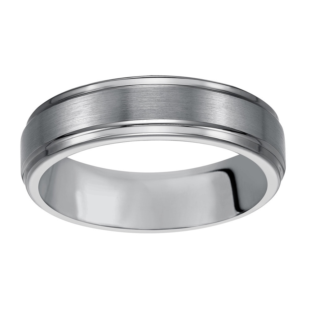 6mm Tungsten Carbide Classic Comfort Fit high Polish Wedding Band Ring for Men or Ladies