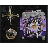 NFL Minnesota Vikings All Time Greats Clock
