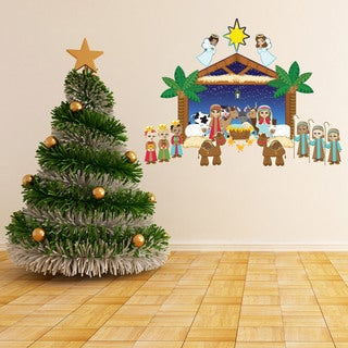 Nativity Interactive Wall Play Set