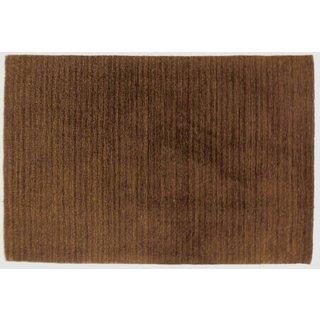 Celebration Wool Solid Chocolate Area Rug (4' x 6')