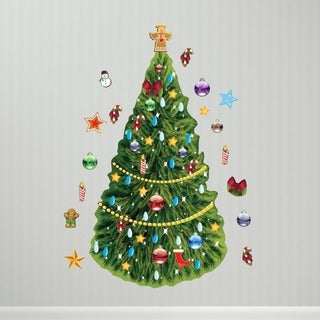 Christmas Tree Interactive' Wall Decal Set