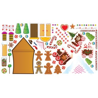 Gingerbread House Interactive Wall Play Set
