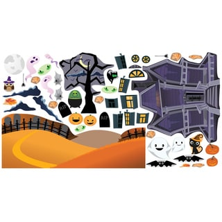 Haunted House Interactive Wall Play Set