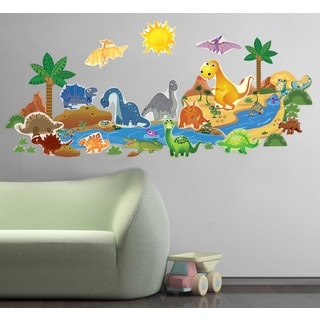 Dinosaur Plus Interactive' Wall Decal Set