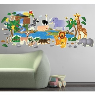 Jungle Plus Interactive' Wall Decal Set