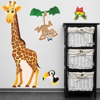 PEEL & STICK BIG Giraffe Decal