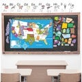 Peel, Play and Learn 'US Map' Wall Decal Set