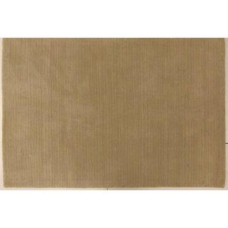 Celebration Wool Solid Linen Area Rug (6' x 9')
