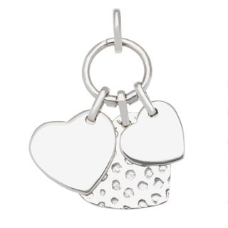 Sterling Silver Hearts Delight Pendant