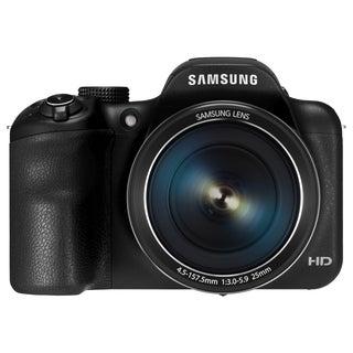 Samsung WB1100F 16.2 Megapixel Compact Camera - Black