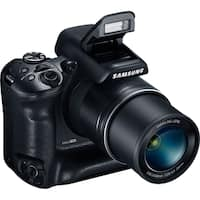 Samsung WB2200F 16.4 Megapixel Bridge Camera - Black